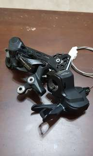 Shimano M6000 Rear Derailleur and Shifter