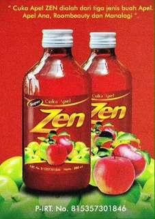 Cuka apel zen