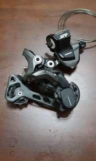 Shimano M8000 Rear Derailleur and Shifter