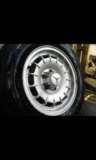 Mercedes Benz Mags Rims size 14