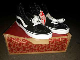 Vans Sk8-hi Black/white Original!!