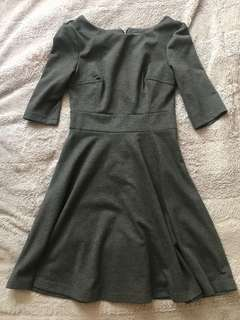 Grey Dress from M Boutique