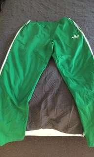 ADIDAS green pants