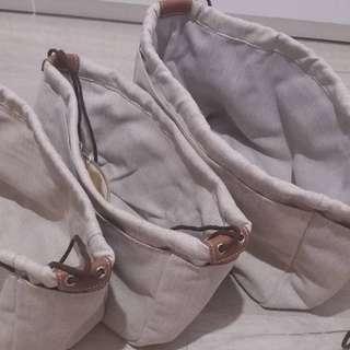 bag in bag baginbag 袋中袋 內袋 hermes chanel LV CEline gucci  尼龍加棉 5 色 訂做 15-20日 $288  $298
