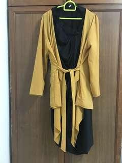 Wrap kebaya with Kami idea Skirt