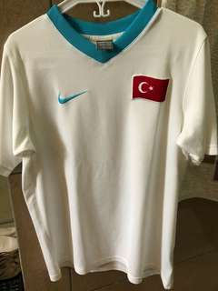 Nike Dri-fit v-neck white top