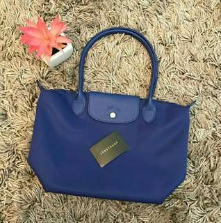Longchamp Planetes in Royal Blue Sale for RAYA 2018