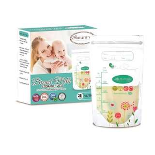 Instock Brand New Autumnz Breastmilk Breast Milk Storage Bags (28pcs)