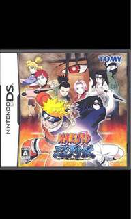 DS Games Naruto ( Japanese Version )