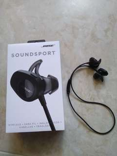 Bose Soundsport Black with box