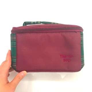 Maroon mini Thermal Bag (bisa untuk bawa Asi )