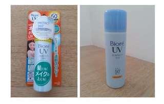 Brand New Auth Biore UV Spray