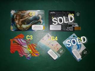 Ltd. Edition Starbucks Cards