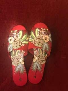 Anna Sui 拖鞋