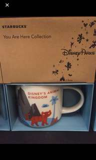 Animal kingdom starbucks mug