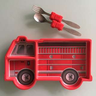 Firetruck 3-Piece meal Set for Toddlers
