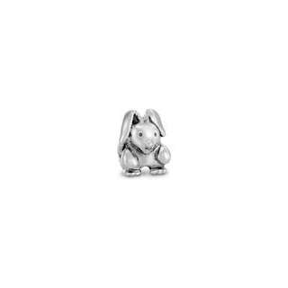 Sterling Silver Bunny Pandora Charm- Antique