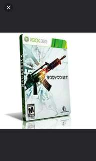 Xbox360 BODYCOUNT.  Genre: Shooter. Usual Price: $59.90 Special Price; $14.90 +  Free Mail Postage. (Brand New & Sealed)
