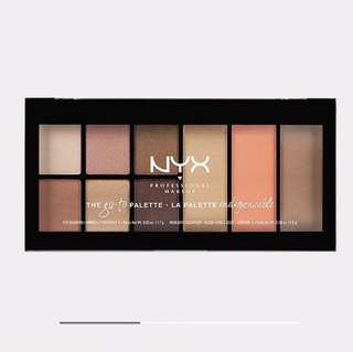 NYX Pro Makeup Go-To Palette - WONDERLUST