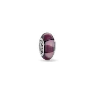 Purple Murano Captivating Pandora Bead/Charm - Antique