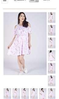 [Brand New] Jump Eat Cry Maternity Nursing Dress