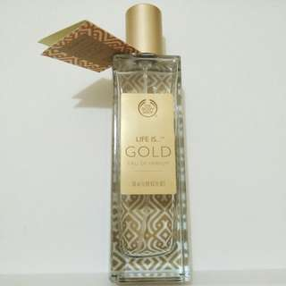 The Body Shop EDP Life is Gold