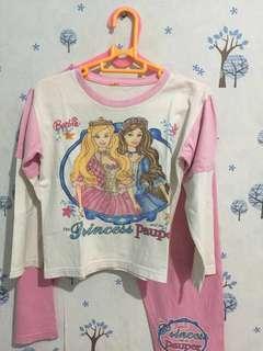 Baju tidur barbie ( 1 Set )