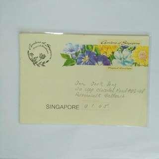 Prepaid Envelope Garden Of Singapore
