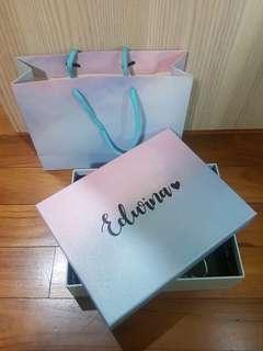 Customize/Personalize Bridesmaid Gift Box