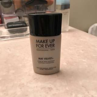 Makeup forever matte coverage