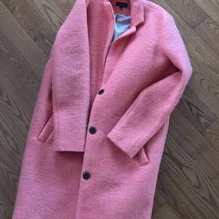 (Reduced price) Top shop salmon top coat
