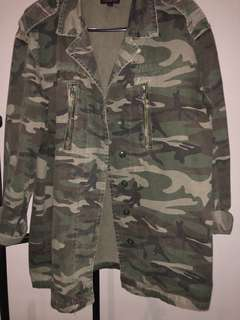 Oversized army jacket