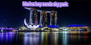 Marina bay sands sky park