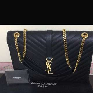Authentic Large YSL Monogram Bagg