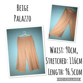 Pre-loved Beige Palazzo