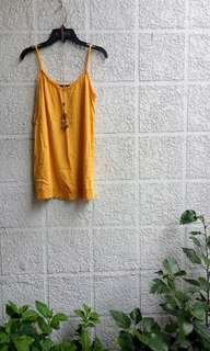 F&F top; Top sleeveless spaghetti