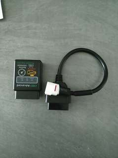 Yamaha diagnostic tool connector for ODB2