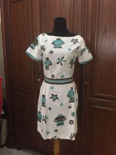 Dress Batik Cirebon