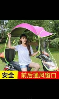 E bike canopy umbrella