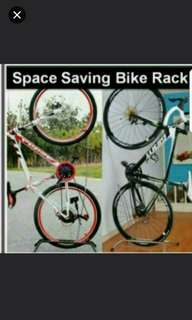 Space Saving Bicycle  Rack