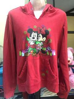 Mickey and Minnie Mouse Hoodie Jacket