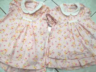 Baby girl flower dress READY STOCK
