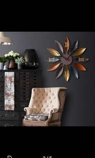 Large Beautiful Wall Clock- Good Quality