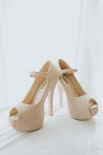 Zanea high heels shoes