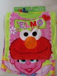 Sesame Street Baby Bibs
