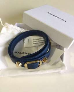 New! Authentic Balenciaga wrap around leather bracelet