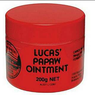 🚚 Lucas Papaw Ointment 200g tub *BN from Australia*