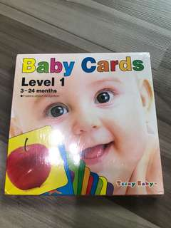bn baby flash cards pictures level 1 3-24 months