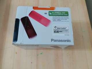 Panasonic 室內無線電話 橙色