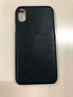 Krusell iPhone X Leather case